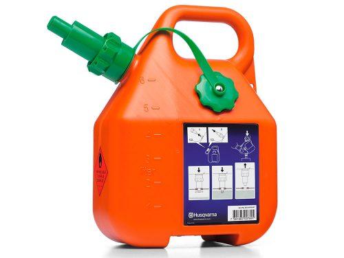 Husqvarna Benzīna kanna ar vārstu 6L, oranža