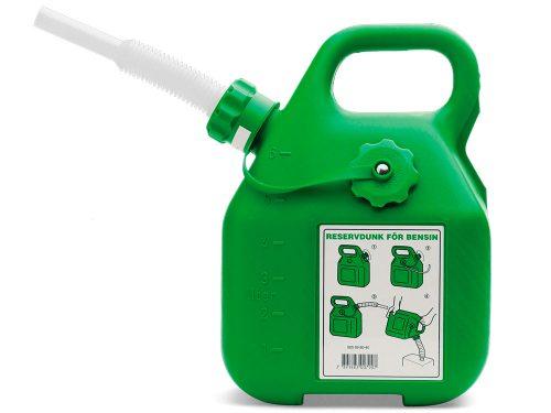 Husqvarna Degvielas kanna ar lokanu snīpi 6L, zaļa